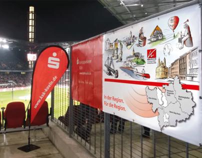 Visuelles Konzept für die Kreissparkasse Köln