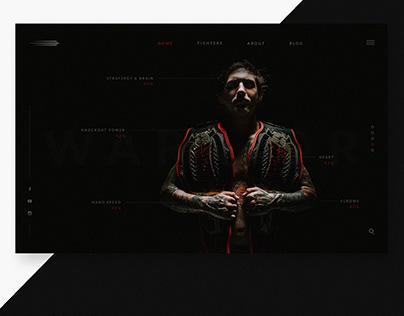 Warrior Landing Page
