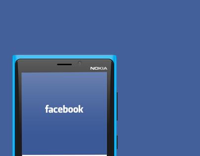 Facebook Redesign concept for Windows phone