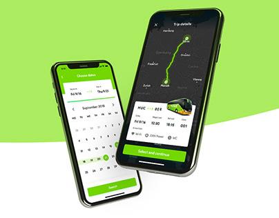 FlixBus App Redesign