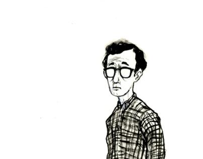 Woody Allen Portrait