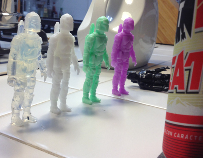 WIP: Star Wars Action Figure Bootlegging Project