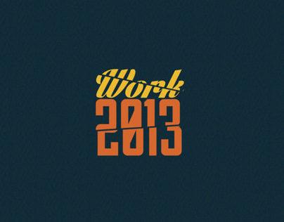 Work 2013