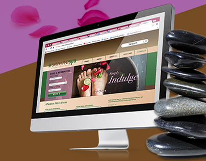 Serene Spa Web Design