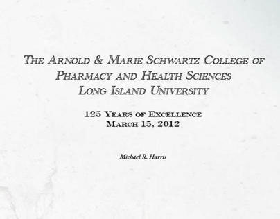 LIU College of Pharmacy, History