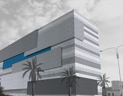 Conceptual facade renovation - CMD