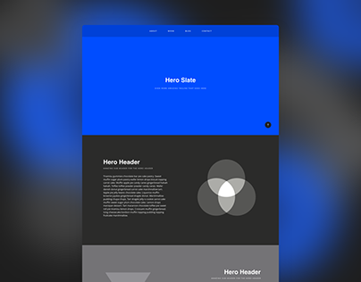 Adobe XD Templates