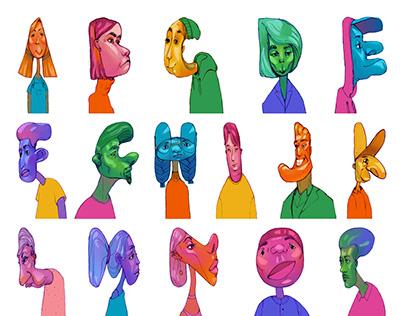Character Alphabet