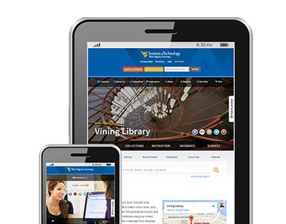 WVU Libraries RWD