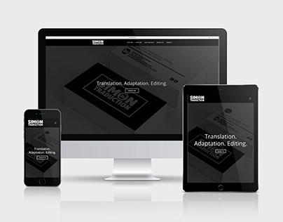 Simon Traduction — Image de marque et site web