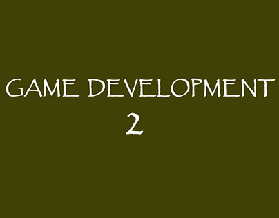 Game Development 2