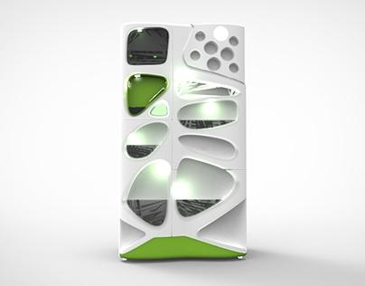 Verdant; GE Sustainable Refrigerator