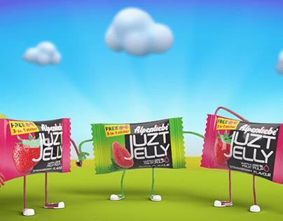 Alpenliebe Juzt Jelly Animation