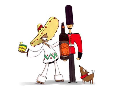 Guacamole Illustration