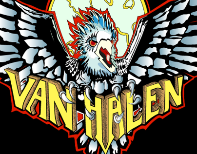 Van Halen eagle vector by me :D