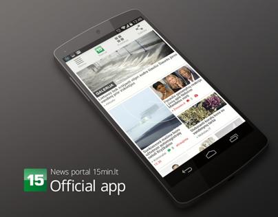 15 MIN news portal | Official app