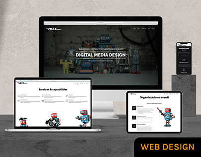 The Next Agency — Website