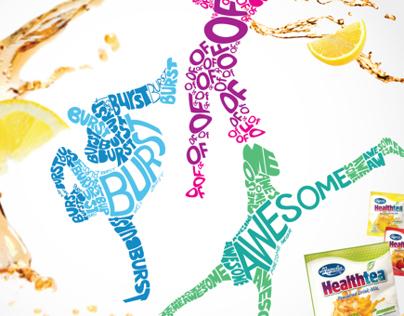 MAGNOLIA Healthtea Burst of Awesome