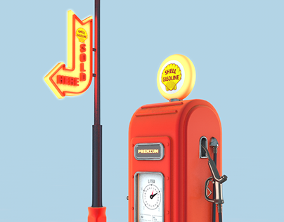 Gas Station | 3D