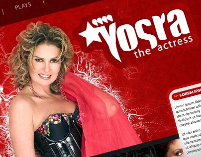 Yosra the actress - Draft website