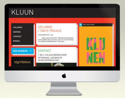 KLUUN responsive website