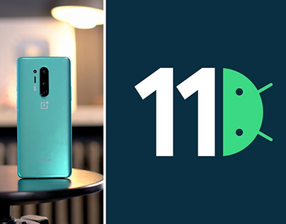 OnePlus 8 and 8 Pro Start Receiving Android 11