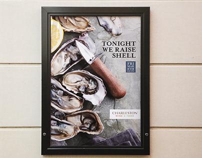 Charleston Food & Wine Festival Advertising