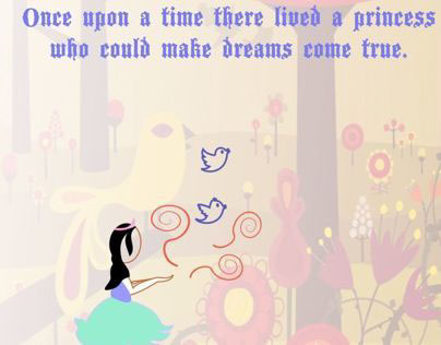 fairytale invite