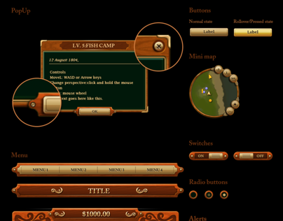 Meriwether Game GUI