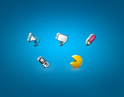 Lyuks icons