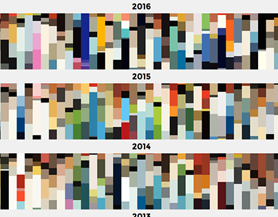 Color Palettes of The New Yorker