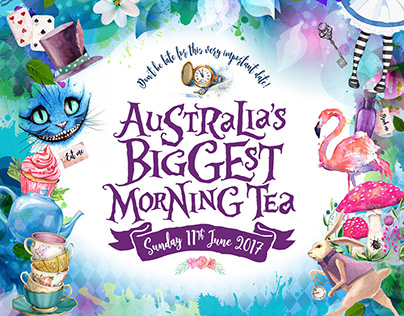 Australia's Biggest Morning Tea – Themed Event Designs