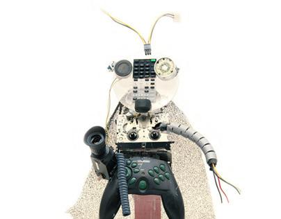 Sculptures by Cyberbimbi @ Workshop DigitHanDo