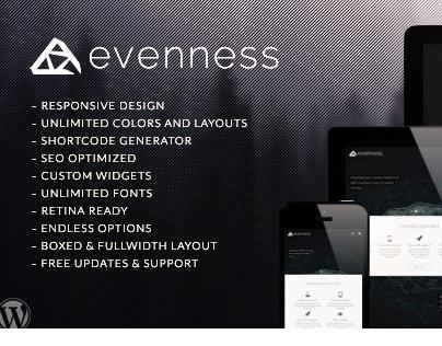 Evenness | Responsive Multi-Purpose Theme