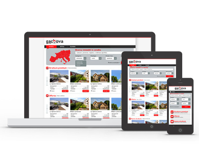 Real estate - Responsive website