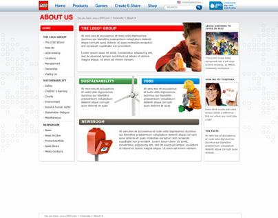 LEGO Corporate site