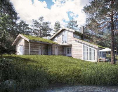 Norwegian montain cabin