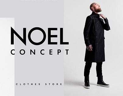 NOEL CONCEPT. Clothes. redesign concept