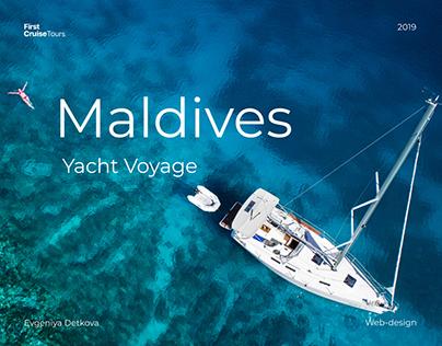 First Cruise Tours - Website design