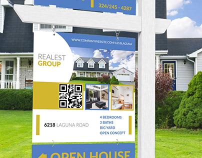 Real Estate Signage, Yard Sign Design