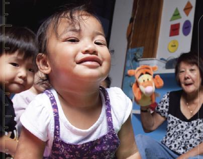 16 CMYK display ads, Hawaii Kids at Work daycare