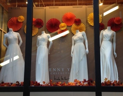 Fall Window 2013 at The Jenny Yoo Collection Chicago