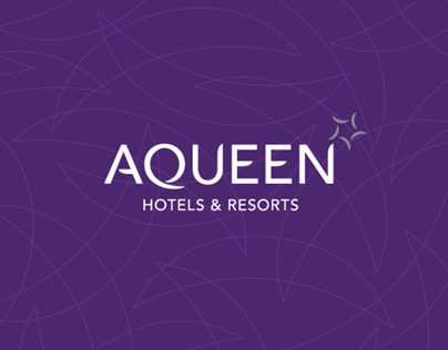 Aqueen Hotels Identity