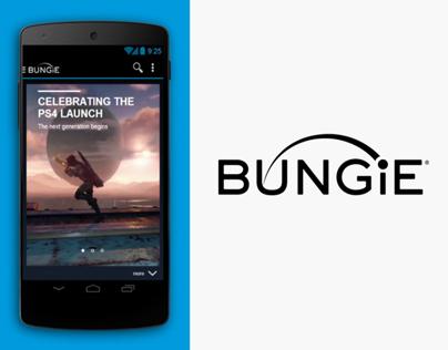 Bungie Android App Re-design [ concept ]