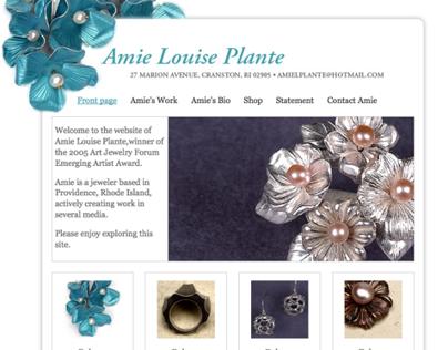 Website for Amie Plante