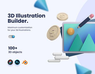 3D Illustration Builder