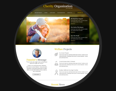 Responsive Web Design for Charity Organization