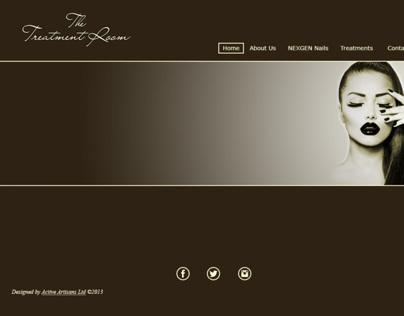 The Treatment Room - Web Design