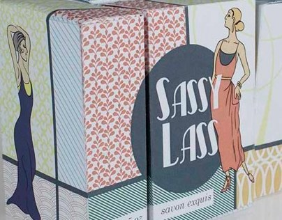 Soap Packaging: Sassy Lass
