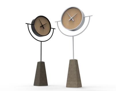Totem Clock